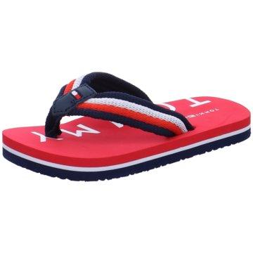 Tommy Hilfiger Offene Schuhe rot