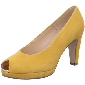 Gabor Peeptoe gelb