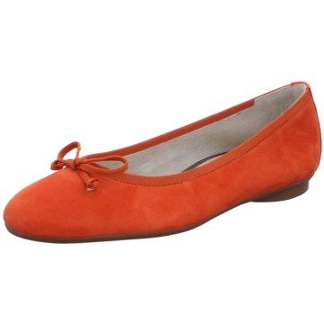 Paul Green Klassischer Ballerina orange