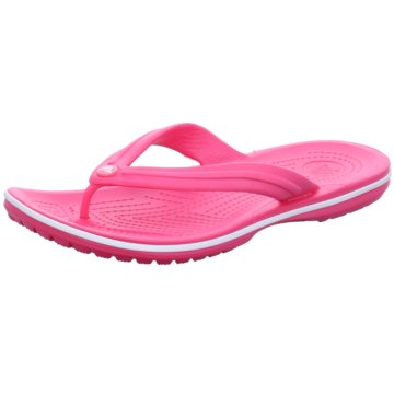 CROCS Bade-Zehentrenner pink