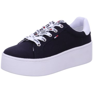 Tommy Hilfiger Plateau Sneaker blau