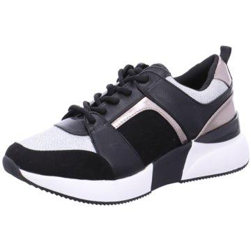 La Strada Plateau Sneaker schwarz