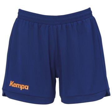 Kempa kurze SporthosenPRIME SHORTS WOMEN - 2003124 blau