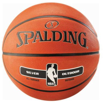 Spalding BasketbälleNBA SILVER OUTDOOR SZ.7 - 30015920017 orange