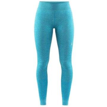 Craft Lange Unterhosen blau