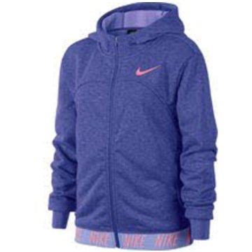 Nike Sweatjacken lila