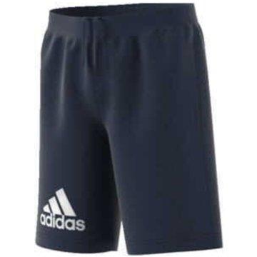 adidas Kurze Sporthosen blau