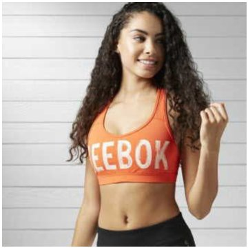 Reebok Sport-BH orange