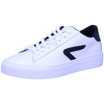 Hub Sneaker Low weiß