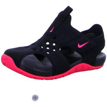 Nike Offene Schuhe schwarz