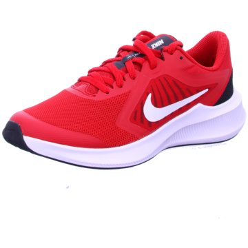 Nike Sneaker LowNike Downshifter 10 Big Kids' Running Shoe - CJ2066-600 rot