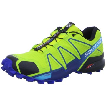 Salomon Trailrunning gelb