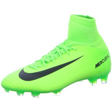 Nike FußballschuhMercurial Superfly V FG Kinder Fußballschuhe Nocken grün grün