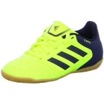 adidas Trainings- und Hallenschuh gelb