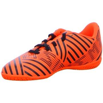 adidas Trainings- und HallenschuhNemeziz 17.4 Indoor Kinder Fußball Hallenschuhe orange schwarz orange