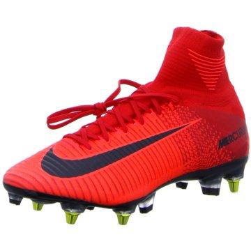 Nike Stollen-SohleMercurial Superfly V DF SG-Pro AC Herren Fußballschuhe Stollen rot rot