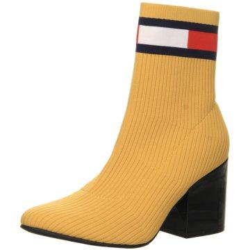 Tommy Hilfiger Klassische Stiefelette gelb