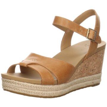 UGG Australia Sandalette braun