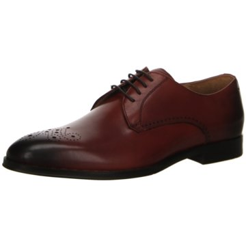 Digel Business Schnürschuh rot