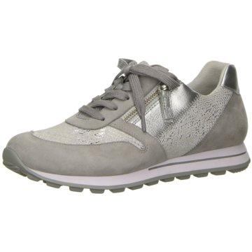 Gabor Komfort Schnürschuh grau