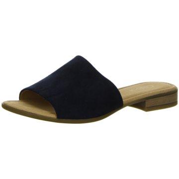 Gabor comfort Klassische Pantolette blau