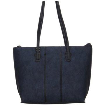 Gabor Taschen DamenShopper blau