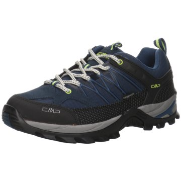 CMP Outdoor SchuhRIGEL LOW TREKKING SHOE WP - 3Q54457 schwarz
