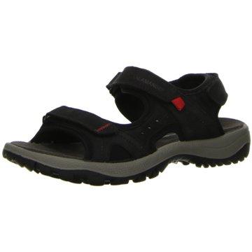 Salamander Outdoor Schuh schwarz