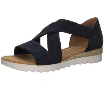 Gabor Sandale blau