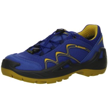 LOWA Sportlicher SchnürschuhINNOX GTX® LO JUNIOR blau