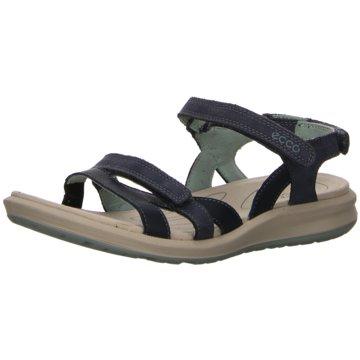 Ecco Komfort Sandale blau
