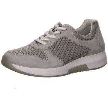 Gabor comfort Sportlicher Schnürschuh grau