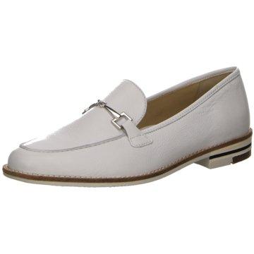 ara Klassischer Slipper weiß