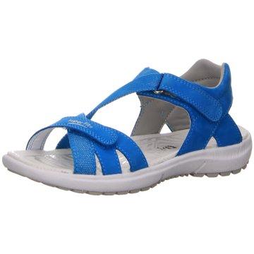 Superfit Offene Schuhe blau
