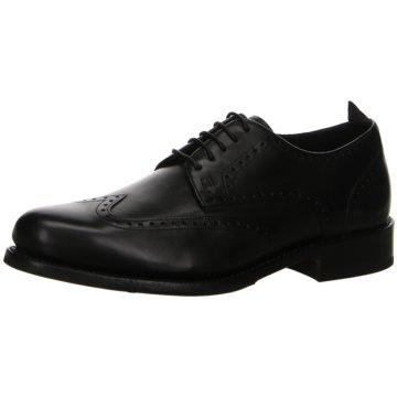 Gordon & Bros Eleganter Schnürschuh schwarz