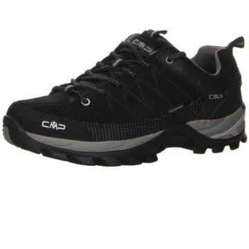 CMP Outdoor SchuhRIGEL LOW TREKKING SHOES WP - 3Q13247 schwarz