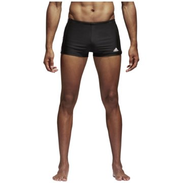 adidas BadeshortsEssence Core 3-Streifen Boxer schwarz