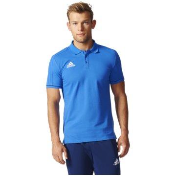 adidas PolosTiro 17 Cotton Polo Herren Poloshirt blau -