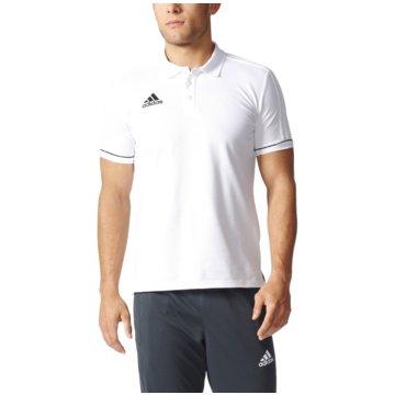 adidas Poloshirts weiß