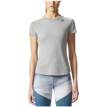 adidas T-ShirtsPrime T-Shirt Mix Damen Trainingsshirt grau grau