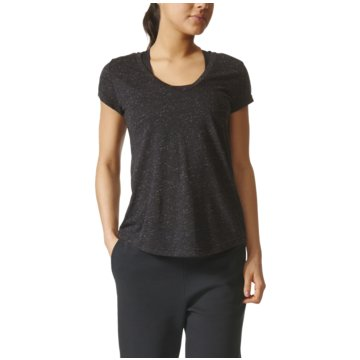 adidas FunktionsshirtsWinners Tee Damen Trainingsshirt schwarz grau