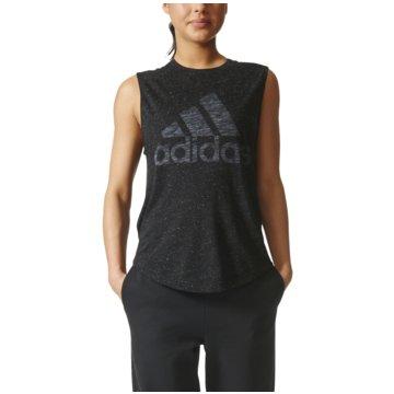 adidas TopsWinners Muscle Tee Damen Sport T-Shirt schwarz -