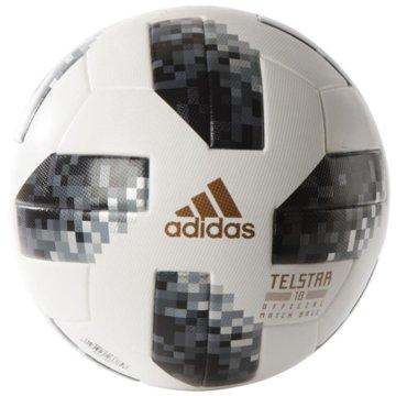 adidas FußbälleTelstar 18 OMB World Cup offizieller Spielball WM 2018 weiß schwarz -
