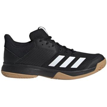 adidas Hallenschuhe schwarz