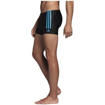 adidas BadeshortsAdidas Fitness Semi 3-Stripes Swim Boxer -