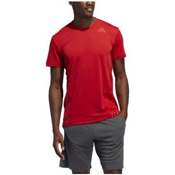 adidas T-ShirtsAERO 3S TEE - FL4314 rot