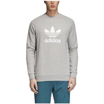adidas Originals SweaterTREFOIL CREW - CY4573 grau