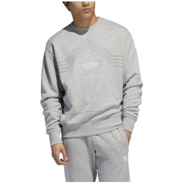adidas SweaterRIVALRY CREW - EJ7110 grau