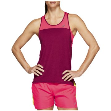 asics TopsLOOSE STRAPPY TANK  pink
