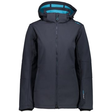 CMP FunktionsjackenFix Hood Jacket Damen Softshelljacke blau blau